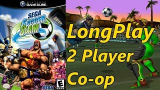 Sega Soccer Slam - Longplay 2 Player Co-op (Quest) Full Game Walkthrough (No Commentary)