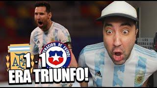 ARGENTINA 1 - 1 CHILE | Reacción de un Argentino | Eliminatorias Qatar 2022
