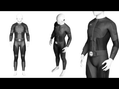 Teslasuit - striking costume virtual reality. NEXT IDEA new tech