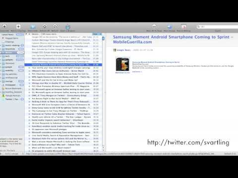 How I blog on the Mac
