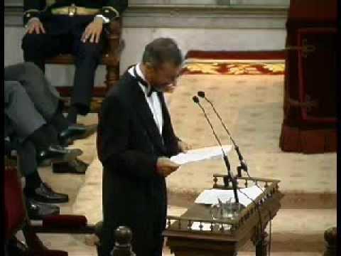 Discurso De Ingreso En La RAE De Arturo Pérez-Reverte