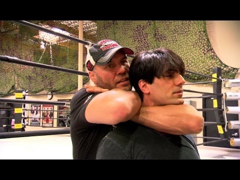 'UFC's Randy Couture Knocks Out Criss'  Criss Angel BeLIEve