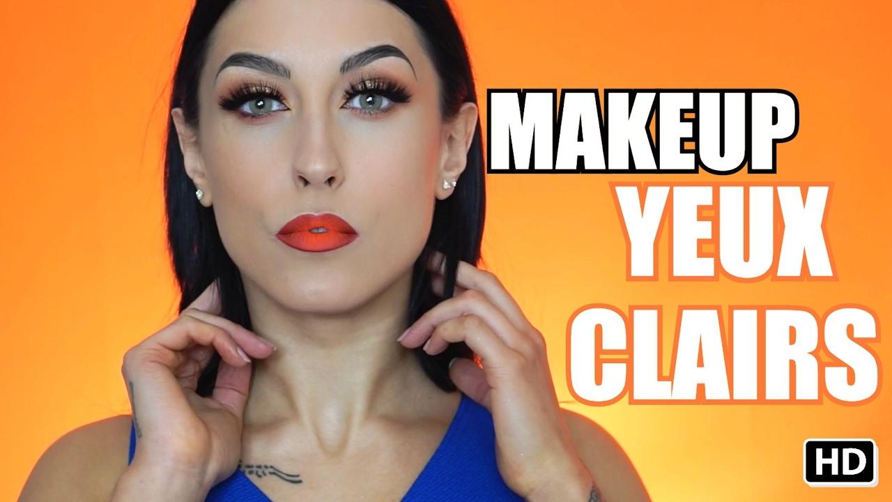 tutoriel maquillage yeux bleus youtube. Black Bedroom Furniture Sets. Home Design Ideas
