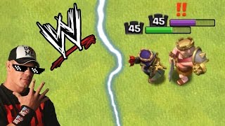 KING vs QUEEN | MAX LEVEL KING vs MAX LEVEL QUEEN | OMG ! WHO WINS? | CLASH OF CLANS WWE | COC