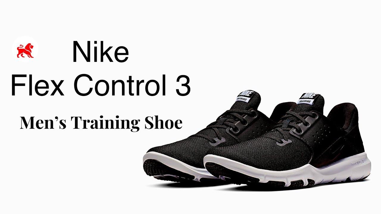 nike flex control 3 black