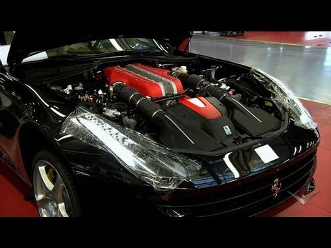 putting a ferrari together how it 39 s made dream cars youtube. Black Bedroom Furniture Sets. Home Design Ideas