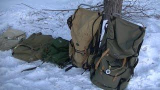 Мои таежные рюкзаки. Обзор снаряжения.