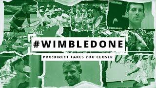 #WimbleDone