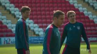 Manchester United vs. FC Bayern - Final Preparations