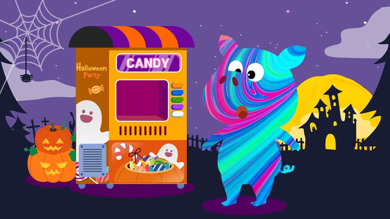 할로윈 사탕 주세요! | 해피 할로윈 |  티디놀이 | 놀이 연속보기 | 티디키즈★지니키즈