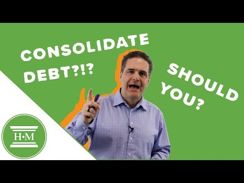 Should I Get A Debt Consolidation Loan?
