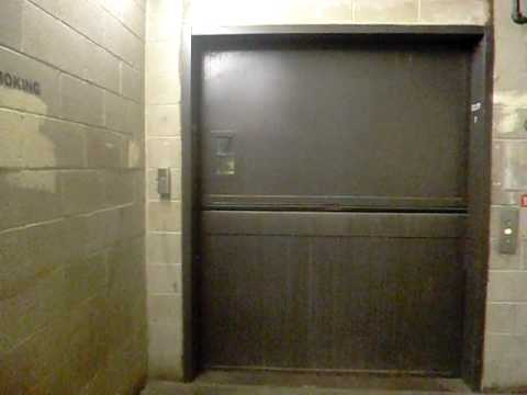 Westinghouse Hydraulic Freight Elevator Near California Pizza Kitchen In The Mall At Short Hills