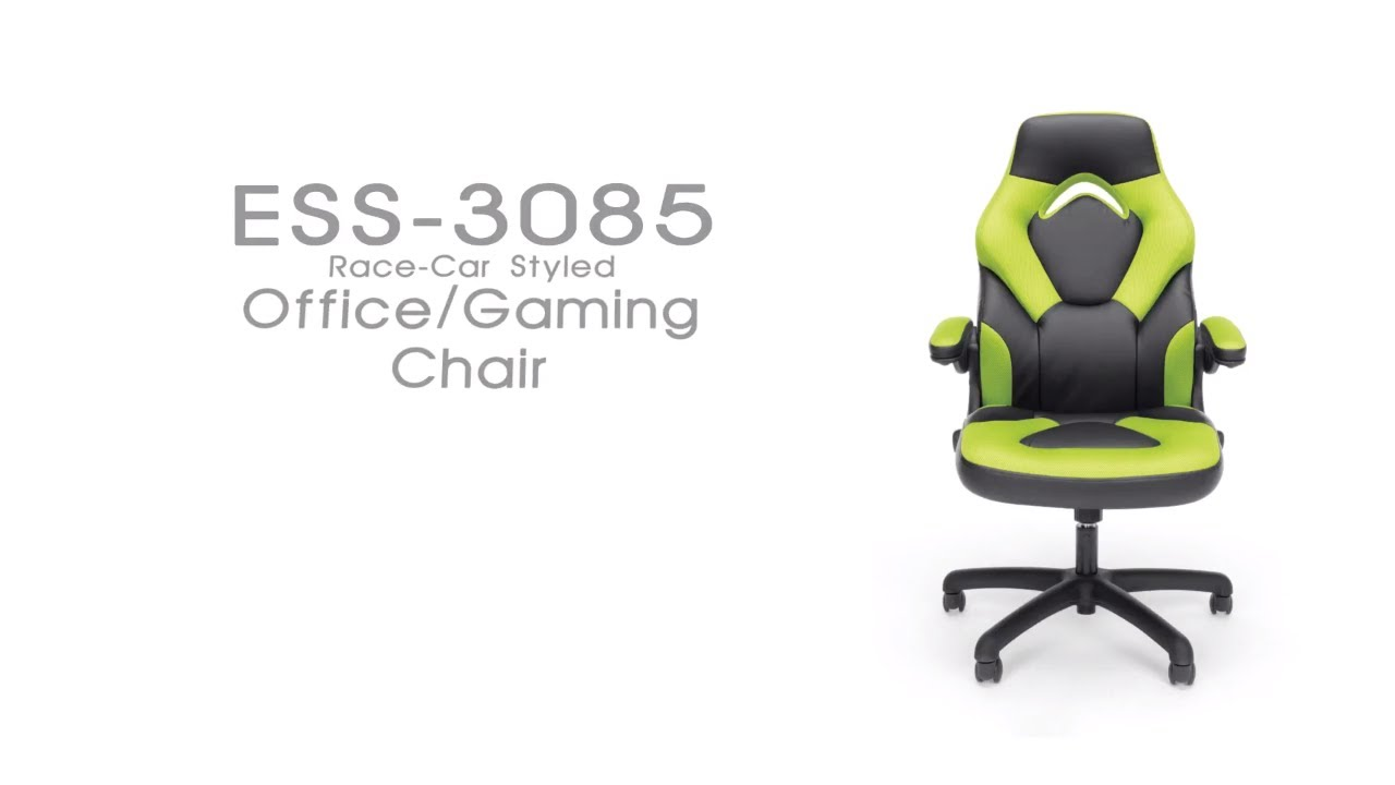 Ofm Essentials Racing Style Leather Gaming Chair Model Ess