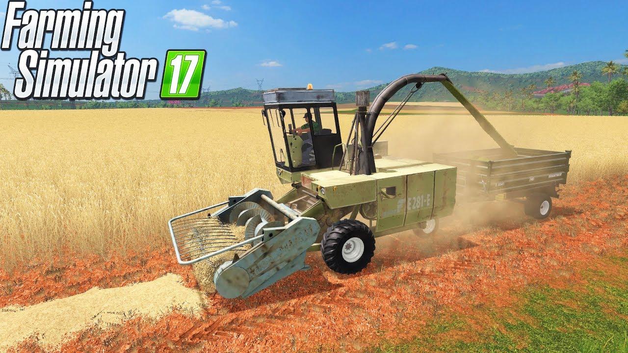 Farming Simulator 17   FORAGE HARVESTER & STRAW COLLECTING