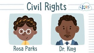 Civil Rights Act of 1964 | Montgomery Bus Boycott for Kids | Rosa Parks and Martin Luther King