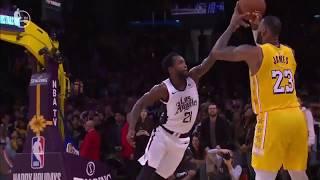 Patrick Beverley game-saving defense on LeBron James - NBA Christmas 2019