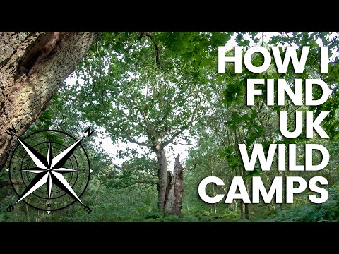 How To Find UK Wild Camp Locations | My Gear & How I Recon
