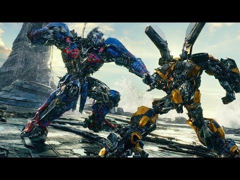 Bumblebee vs Nemesis Prime Fight Scene - Transformers: The Last Knight (2017) Movie Clip HD