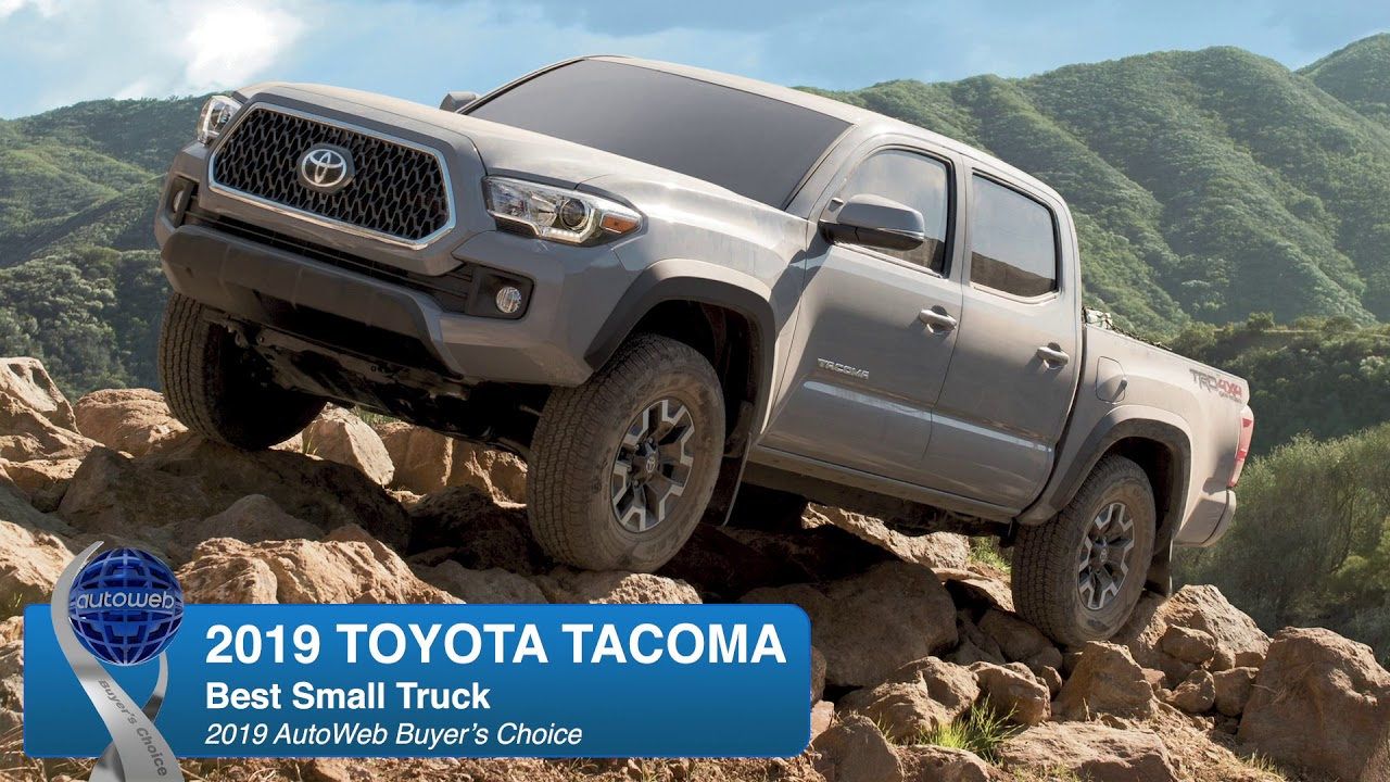 Best Small Truck: 2019 Toyota Tacoma - AutoWeb Buyer's Choice Award Winner