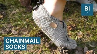 Chainmail Socks Can Replace Your Shoes