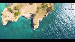pesona indonesia aerial video