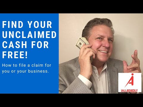 Find Your Unclaimed Cash For Free!