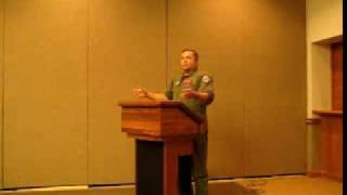 Indo-US Red Flag Air Force Exercise Lecture 2008 Part 1