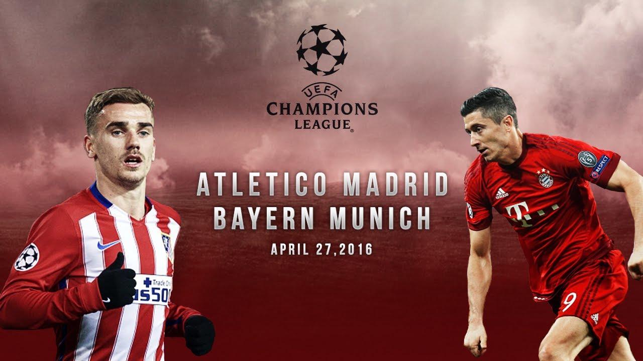 Футбол чемпионат лига атлетико бавария смотреть
