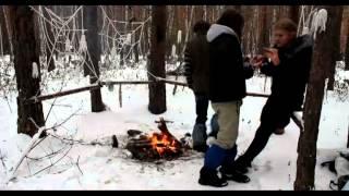 Безумная фотосессия на природе холод, костюм своими руками