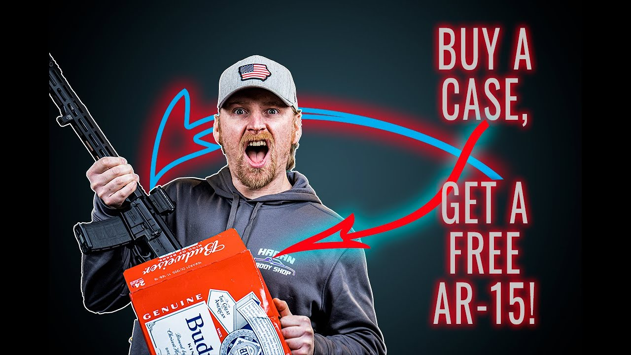 We Got A FREE AR In Our Case Of Budweiser! 2020 Is Fixed!