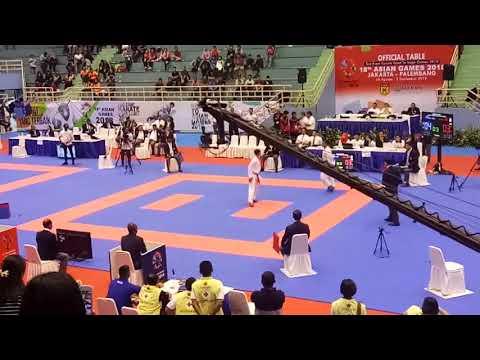 KEJUARAAN NASIONAL MASTER CUP 2017 Road To AsianGames2018 FINAL KUMITE -55 SENIOR PUTRA.