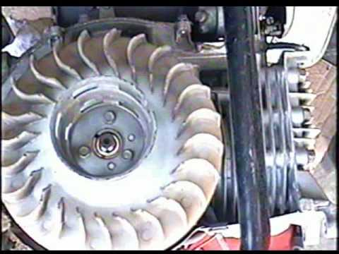 DIAGNOSIS of Vintage Honda Generator Part 3 of 4 - YouTube