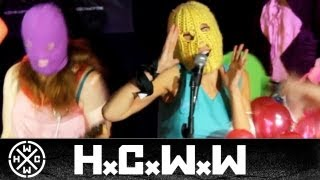 PUSSY RIOT - ЖЖЕТ ПУТИНСКИЙ ГЛАМУР - HARDCORE WORLDWIDE (OFFICIAL HD VERSION HCWW)