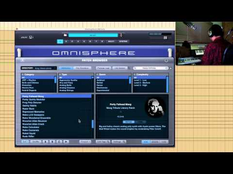 PROJECT PRESET - Omnisphere Bob Moog Tribute Library 1.1.0 Update
