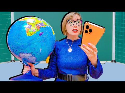 БОГАТАЯ училка VS БЕДНЫЕ школьники! Кто купил IPhone 11 Pro?