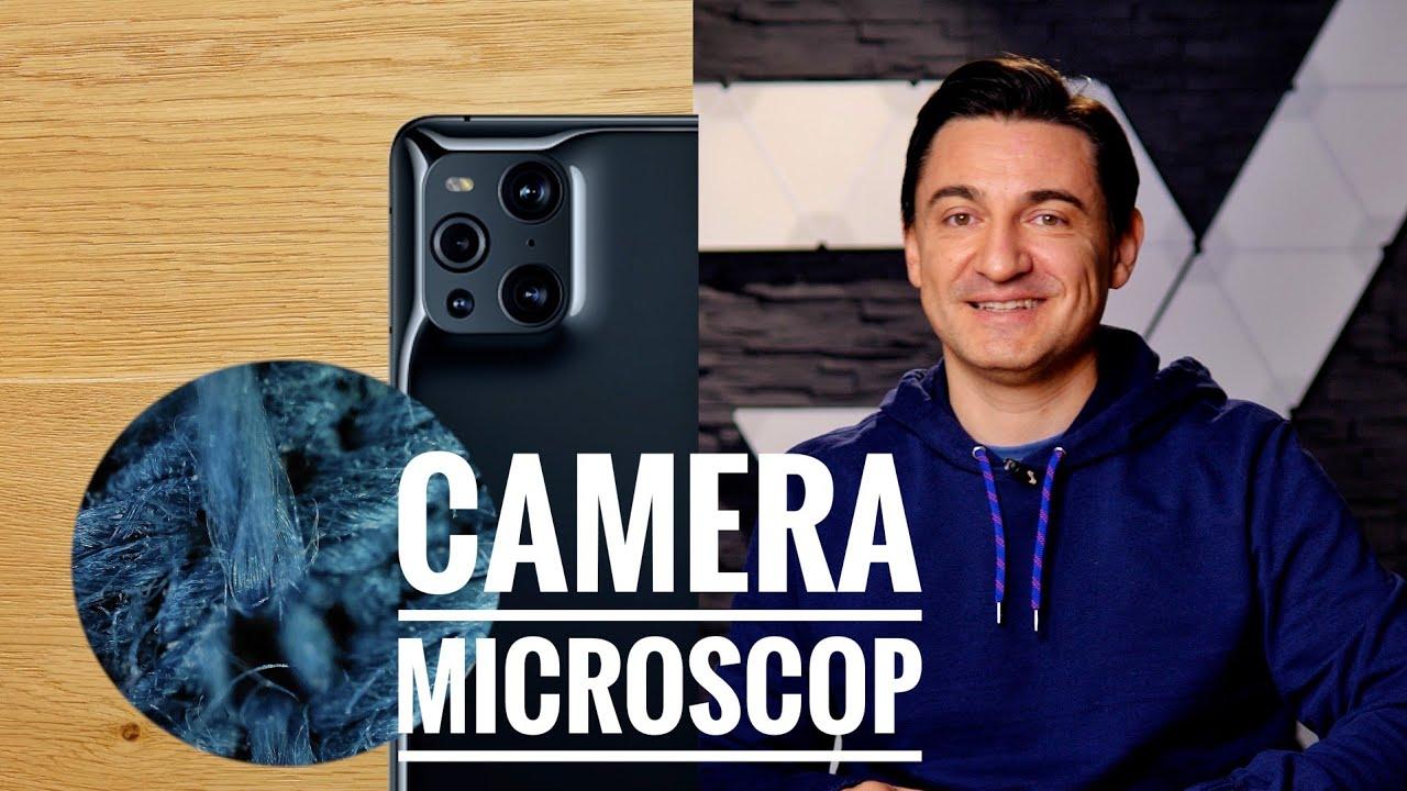 Camera microscopică 60X - OPPO Find X3 Pro