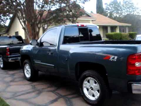 2008 Chevrolet Z71 4x4 Reg cab LT - YouTube