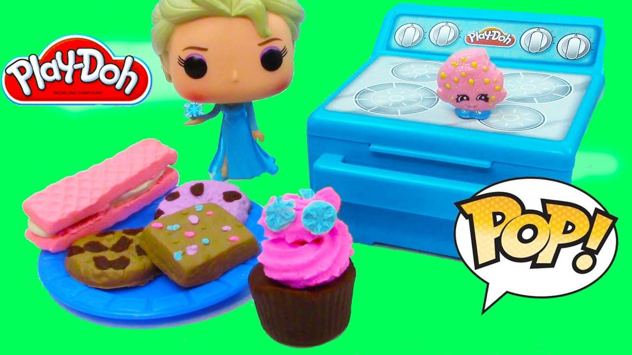 Disney Queen Elsa Play Doh Sweet Bakin Creations Cookies