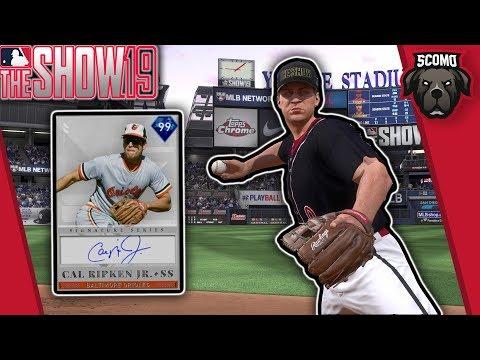 4th Inning Boss! Cal Ripken Jr Debut! MLB The Show 19 Gameplay