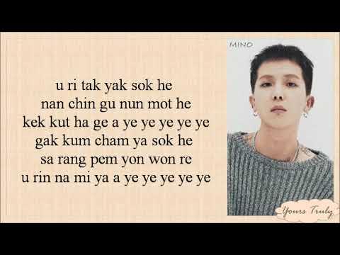 WINNER - AH YEAH (아예) Easy Lyrics