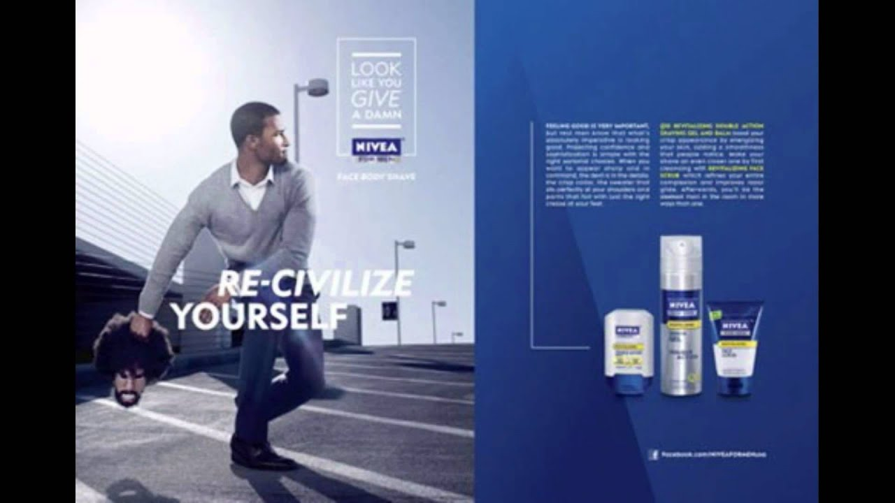 Image result for nivea racist afro americans