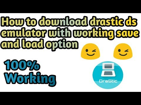 How to download drastic ds emulator with working save and load option    By Techno Mania