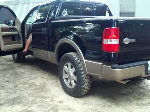 ford 2006 f150 king ranch with glasspacks youtube. Black Bedroom Furniture Sets. Home Design Ideas