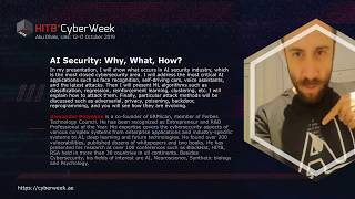#HITBCyberWeek #CommSec AI Security: Why, What, How? - Alexander Polyakov