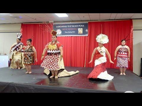 Mafi Fakapotu - Langakali 'oe Vai Ko Puna - Art Of Tau'olunga Dance Academy Showcase