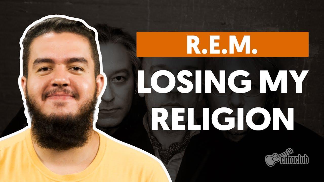 losing my religion r e m aula de violão simplificada youtube