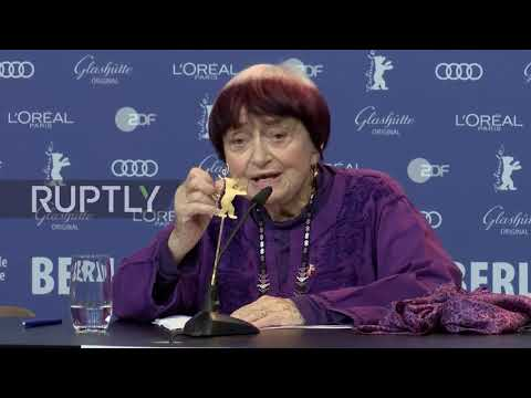 Germany: French director Agnes Varda presents latest film at Berlinale