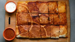 4-Flavor Sheet-Pan Crunch-Wrap