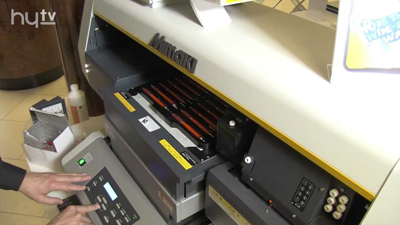 How to create profit making promotional products with your Mimaki - from  HyTV