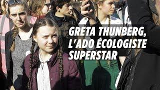 Greta Thunberg, ado écologiste superstar